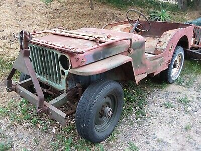 Willys Jeep For Sale >> Ford Gpw 1942 Willys Jeep For Sale Running Restoration