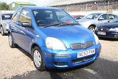 2003 (53) Toyota Yaris 1.0 VVT-i T3 3 door ##1 LADY OWNER FROM NEW##