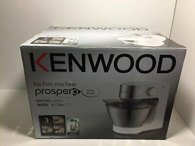 Kenwood KM280 Prospero Compact 4.3L Food Mixer with Blender 900W NEW SEALED