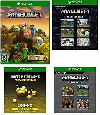 Minecraft Master Collection Xbox One Digital Download - Sent Within 24 Hours
