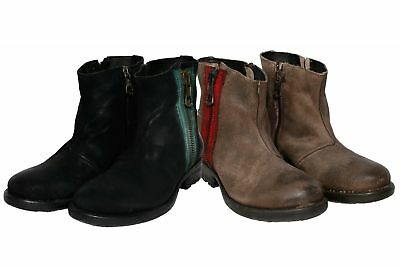 REPLAY WOMENS LEATHER Boots GWH22 .003.C0020L $119.39
