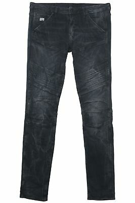 G-star 5620 Custom Md Skinny Jeans Bikerjeans Donna Superstretch Dk Invecchiato