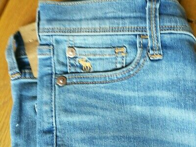 Brand New With Tags Girls Abercrombie and Fitch Jeans