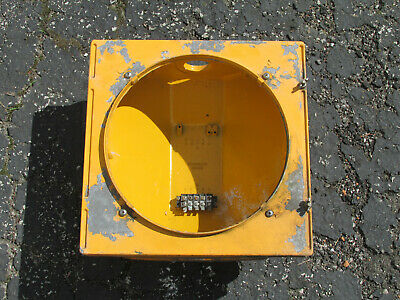 Econolite Cast Metal 12 inch Traffic Signal Stop Light Body Only - Listing #1