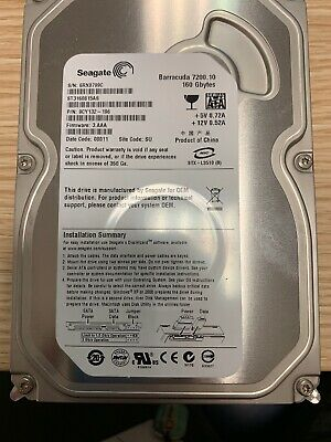 Hard disk Seagate Barracuda 7200.9 ST3160812AS 160GB 7200RPM SATA 3Gbps 8MB 3.5