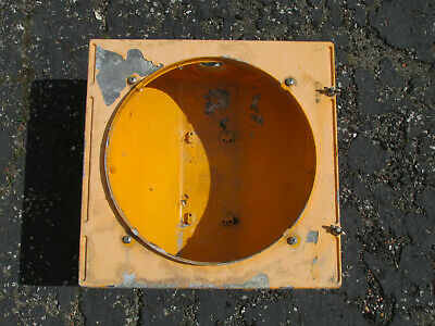 Econolite Cast Metal 12 inch Traffic Signal Stop Light Body Only - Listing #4