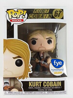 Funko Pop! Rocks 67 Kurt Cobain Sweater FYE Exclusive f.y.e. Vinyl Figure Pop
