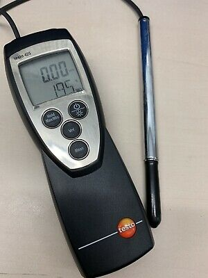 Testo 425 Compact Thermal Anemometer 0 to +20 m/s