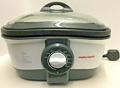 Morphy Richards Intellichef Multicooker 48615 8 In 1 Multi Slow Cook Fryer Grill