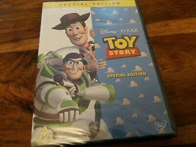 Disney Pixar Toy Story Special Edition UK R2 DVD New Factory Sealed