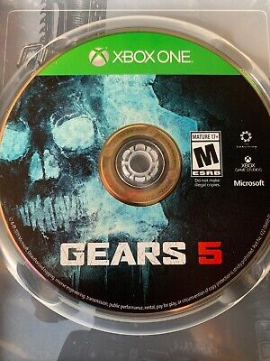 Gears 5 Standard Edition XBOX One XB1 Disc Only