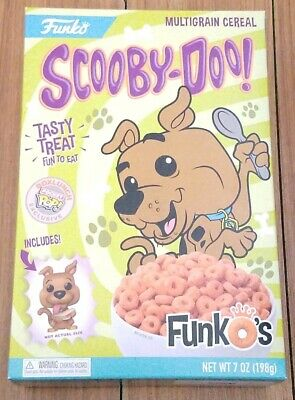 Funko Pocket Pop Cereal Scooby-Doo Funko's Box Lunch Exclusive In Hand