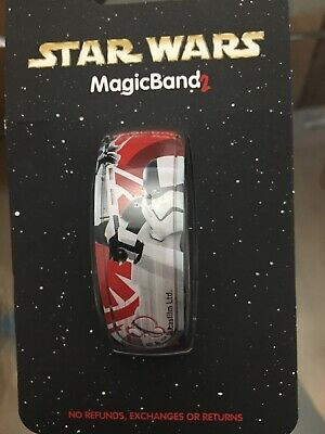 NEW Disney Parks New Star Wars The Executioner MagicBand The Last Jedi