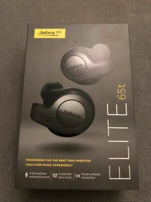 Jabra Elite 65t Alexa Enabled True Wireless Earbuds - Black