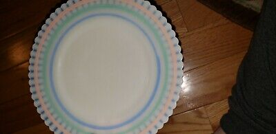 PETALWARE Pastel Band SAUCER by Macbeth-Evans 1-ONLY