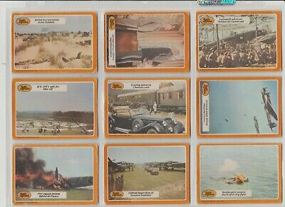 Battle Of Britain  66 Cards Full Set A&BC Gum Bubblegum cards