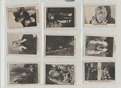 You'll Die Laughing  A&BC Bubble GUM CARDS Full set of 66 cards