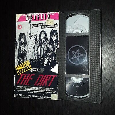 Mötley Crüe-The Dirt Vhs 2019 (New/Distressed Vintage Effect) Limited Edition