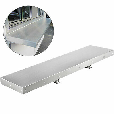 4 Foot Shelf for Concession Window Tabletop Heavy Duty Food Truck Accessories