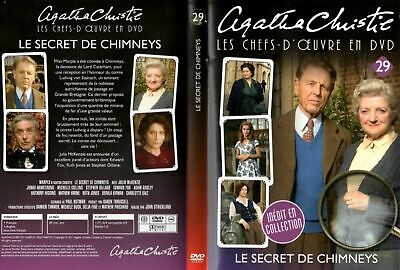 "DVD TRES RARE : "" LE SECRET DE CHIMNEYS "" Agatha CHRISTIE / Série TV"