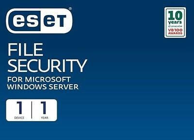 ESET File Security for Microsoft Windows Server 2016/2019 1 Server 3 Years