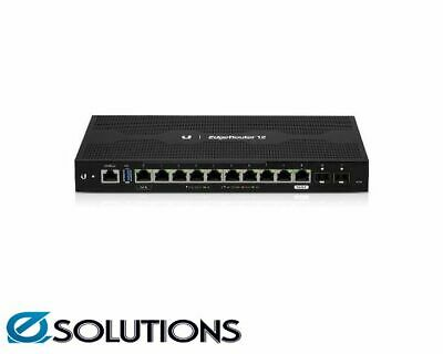 Ubiquiti EdgeRouter 12 - 10-Port Gigabit Router with PoE Passthrough and 2 SFP P
