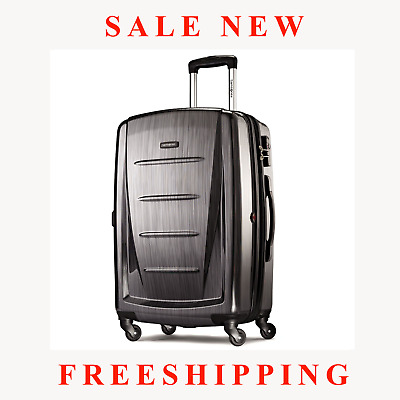 "SALE NEW Samsonite Winfield 2 Fashion 28"" Spinner Color Charcoal FREESHIPPING"