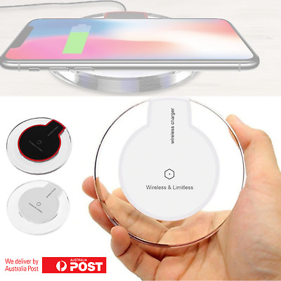 iPhone 8 PLUS XS MAX XR Wireless Charger Charging Pad For Apple Samsung S10 S9