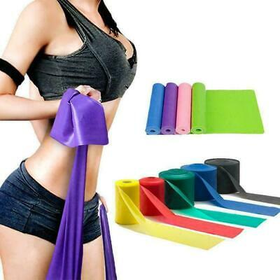 Sport Resistance Band Exercise Rubber Yoga Elastic Fitness Band Workout Sel I9P9