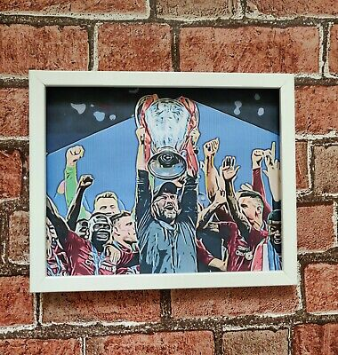 Liverpool FC Champions league 2019 poster print football picture (free p&p)