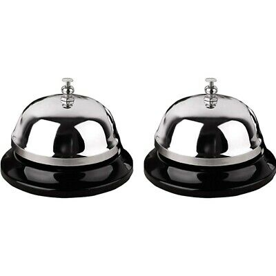 Call Bells, Service Bell, 2 Count Desk Bell With Metal Anti-Rust Constructi K3M2
