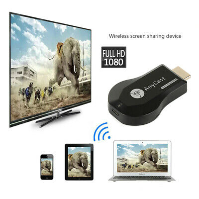 AnyCast M12 Plus WiFi Display Dongle Receiver Airplay Miracast HDMI TV 1080P E4