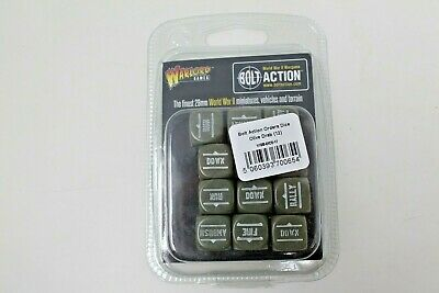 Bolt Action Order Dice ( Olive Drab ) New