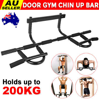 Pull Chin Up Bar Station Doorway Wall Mount Power Tower Muscle Exercise Home Gym