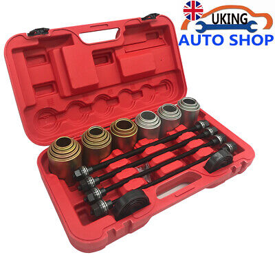 26Pcs Pull and Press Sleeve Tool Kit Set Bush Removal Seal Bearing Cars LGV HGV
