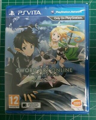 Sword Art Online: Lost Song (Sony PlayStation Vita) New Sealed PAL UK Free Post