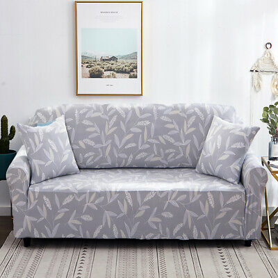 Sofa Cover Couch Lounge Protector Slipcovers 1/2/3 Seater Covers High Stretch M