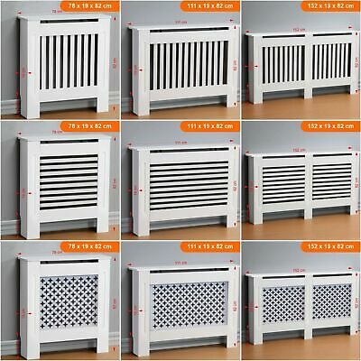 Modern Radiator Cover White Painted Traditional Wood Grill Cabinet Furniture