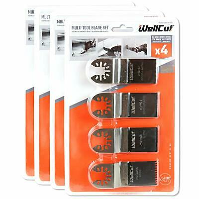 4 Piece Multi Tool Blade Set for TM3010, DTM51, DCS355, M18BMT Pack of 4