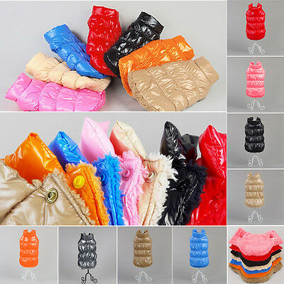 Puppy Cat Appar Waterproof Clothing Dog Winter Warm Coat Jacket Vest Pet Clothes