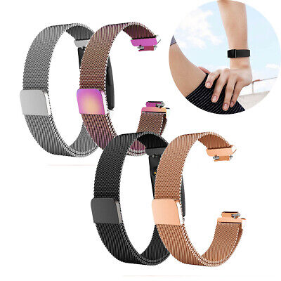 For Fitbit Inspire / Inspire HR Magnetic Milanese Stainless Steel Band Strap UK