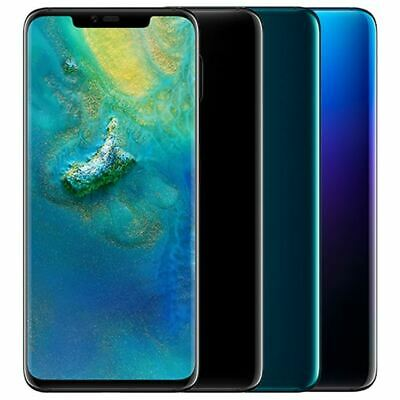 NEW Huawei Mate 20 Pro 128GB Triple Camera Twilight Unlocked LYA-L0C Smartphone