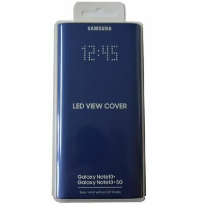 Samsung Official LED View Wallet Cover EF-NN975 ( Blue ) for Galaxy Note10+