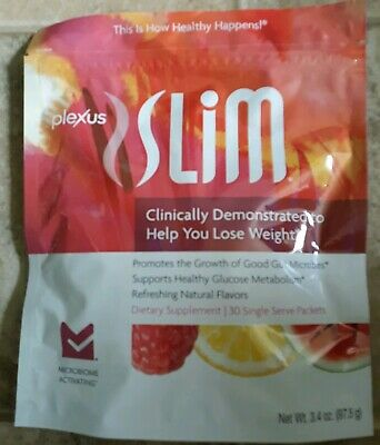 Plexus Slim Microbiome Activating Pink Drink~30 Packets New Sealed