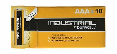 Duracell Industrial AAA | Box of 10 Batteries AAA Size Pack of 10 .