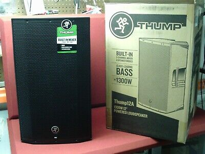 """Mackie Thump12A 1300W 12"""" Powered Loudspeaker, Mint Condition"""