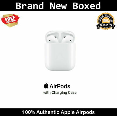 Apple AirPods 2nd Generation with Charging Case - White 2019