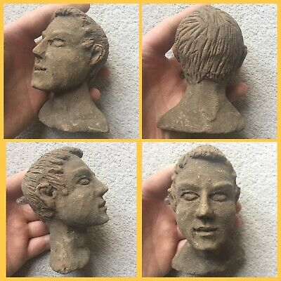 Rare ancient Terracotta Indus Valley pottery  Head c3300-2000 bc