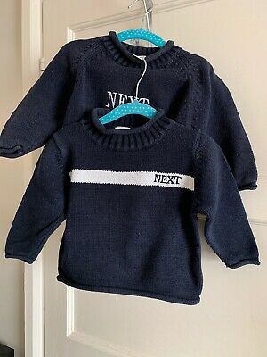 Baby Boys Vintage Neck 1990s Jumpers 9-12 Months 12-18