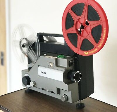 CINEREX 727 DUAL SUPER 8  8mm Dual Format CINE MOVIE FILM PROJECTOR